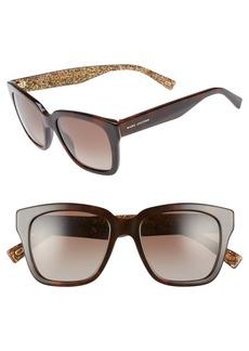 MARC JACOBS 52mm Square Polarized Sunglasses