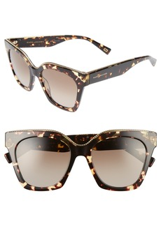 MARC JACOBS 52mm Square Sunglasses