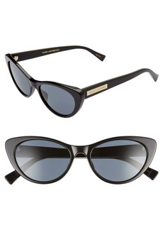 The Marc Jacobs 53mm Cat Eye Sunglasses