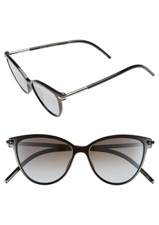 MARC JACOBS 53mm Cat Eye Sunglasses