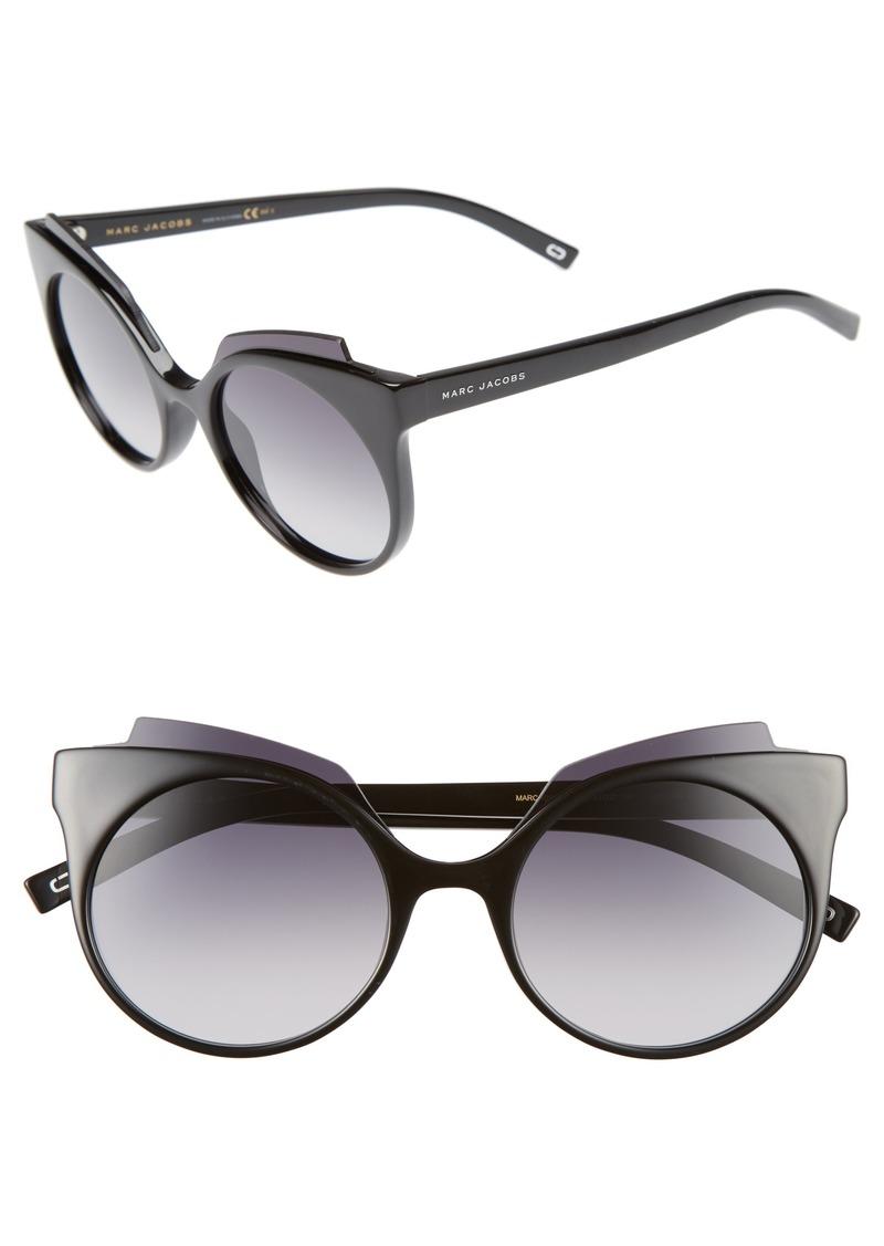MARC JACOBS 53mm Oversized Sunglasses