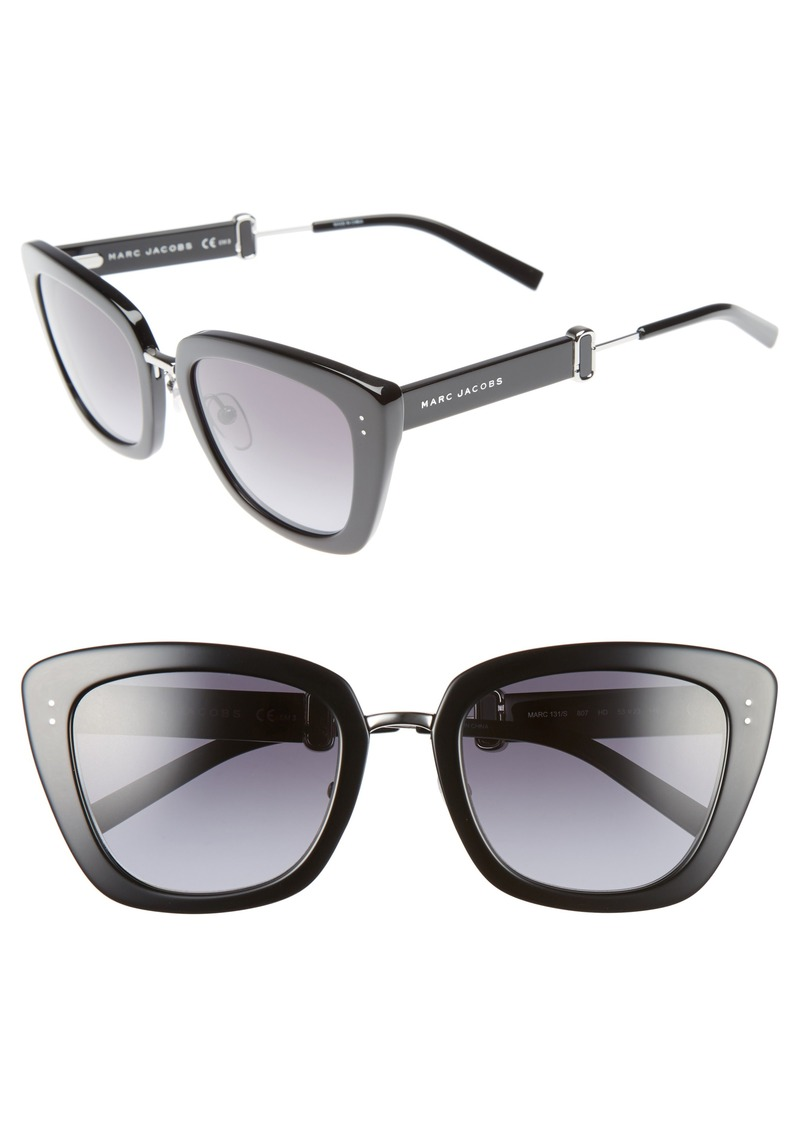 MARC JACOBS 53mm Oversized Sunglasses