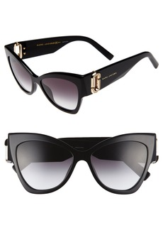 MARC JACOBS 54mm Cat Eye Sunglasses