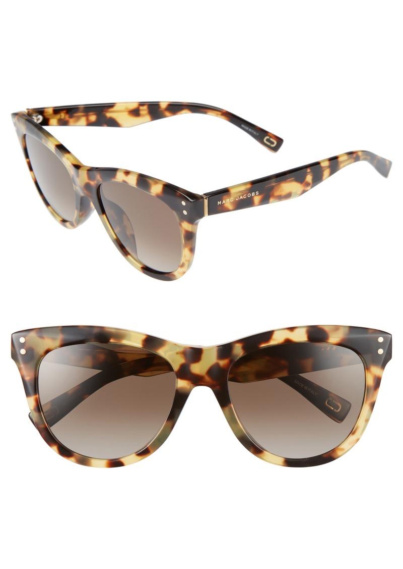 MARC JACOBS 54mm Gradient Polarized Sunglasses