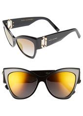 MARC JACOBS 54mm Oversized Sunglasses