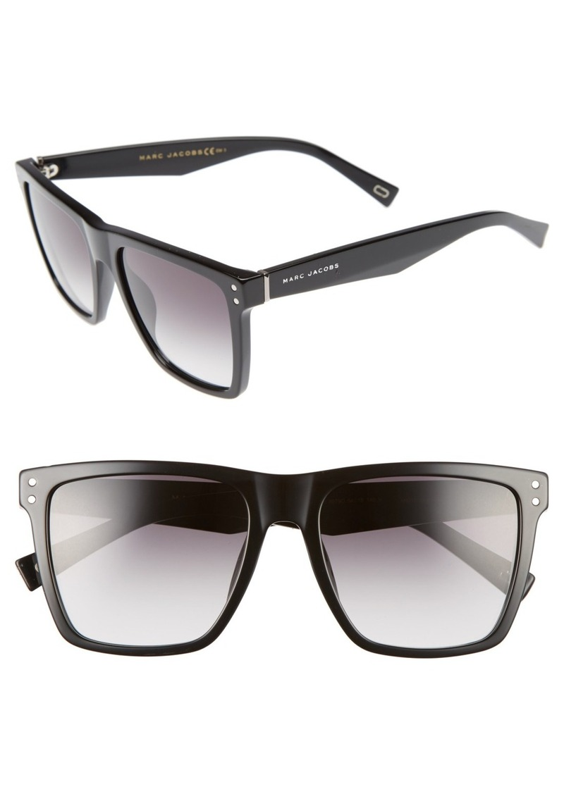 MARC JACOBS 54mm Square Frame Sunglasses