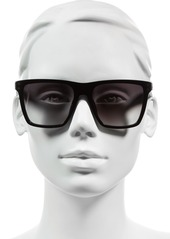 MARC JACOBS 54mm Flat Top Gradient Square Frame Sunglasses