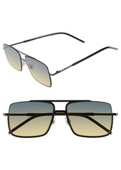 MARC JACOBS 55mm Aviator Sunglasses
