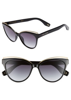 MARC JACOBS 55mm Cat Eye Sunglasses