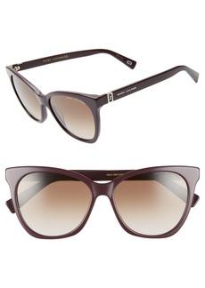 The Marc Jacobs 56mm Cat Eye Sunglasses