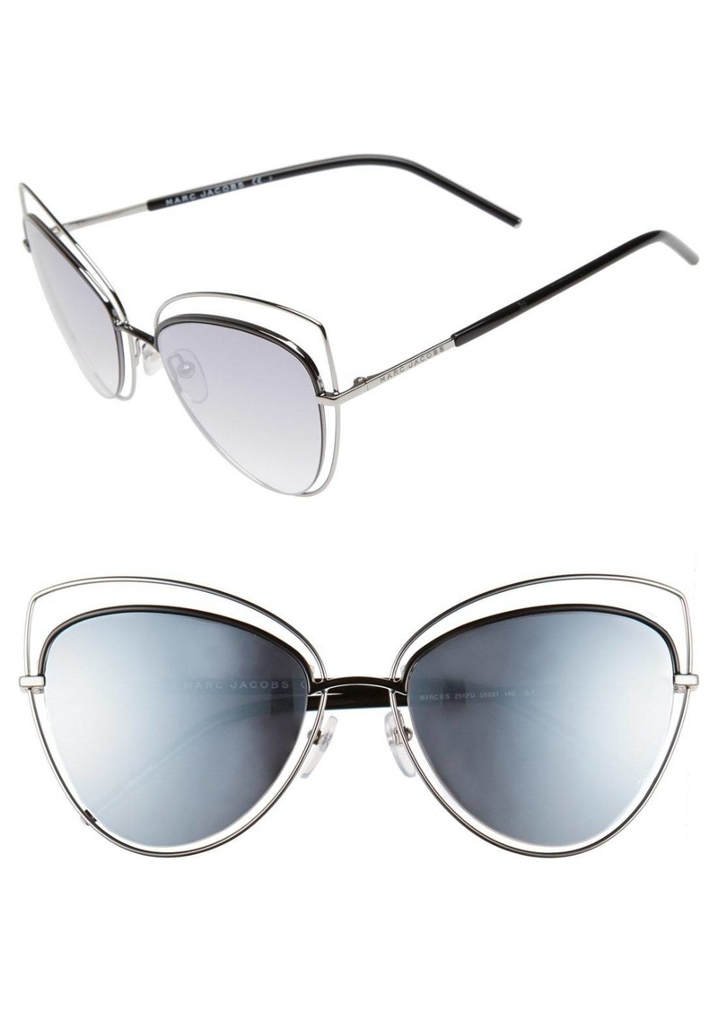 9a279bb1a5 Marc Jacobs MARC JACOBS 56mm Cat Eye Sunglasses