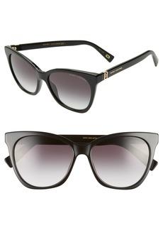 MARC JACOBS 56mm Cat Eye Sunglasses