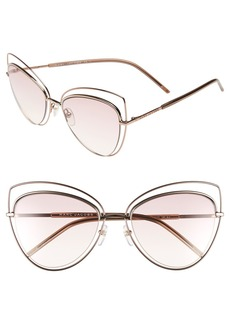 MARC JACOBS 56mm Cat Eye Sunglasses