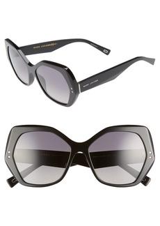 MARC JACOBS 56mm Polarized Sunglasses