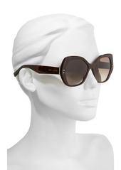 MARC JACOBS 56mm Polarized Sunglasses