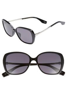 MARC JACOBS 56mm Sunglasses