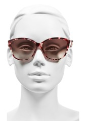 MARC JACOBS 58mm Butterfly Sunglasses