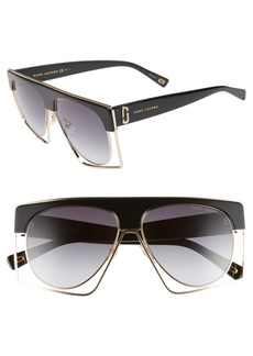MARC JACOBS 58mm Flat Top Sunglasses