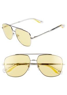 The Marc Jacobs 58mm Navigator Sunglasses