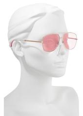 MARC JACOBS 58mm Navigator Sunglasses