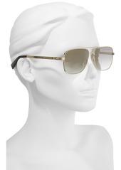 MARC JACOBS 59mm Gradient Navigator Sunglasses
