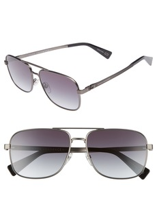 MARC JACOBS 59mm Gradient Navigator Sunglasses
