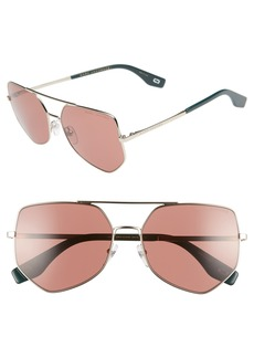 MARC JACOBS 59mm Navigator Sunglasses