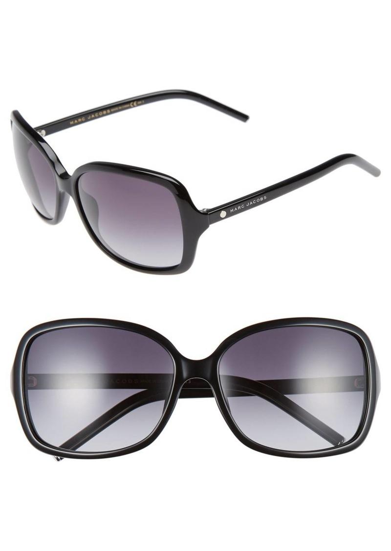 MARC JACOBS 59mm Oversized Sunglasses