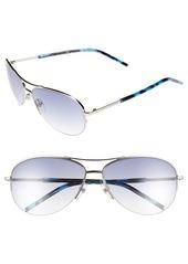MARC JACOBS 59mm Semi Rimless Sunglasses