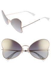 MARC JACOBS 60mm Heart Sunglasses
