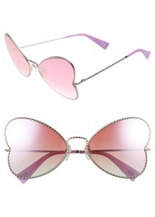 MARC JACOBS 60mm Heart Sunglasses