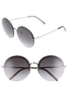 The Marc Jacobs 60mm Round Sunglasses