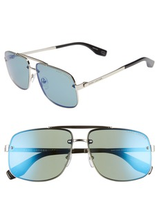 MARC JACOBS 61mm Navigator Sunglasses