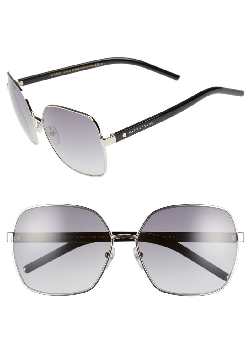 MARC JACOBS 61mm Oversized Sunglasses