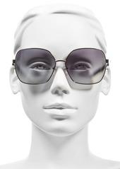 MARC JACOBS 61mm Oversized Sunglasses