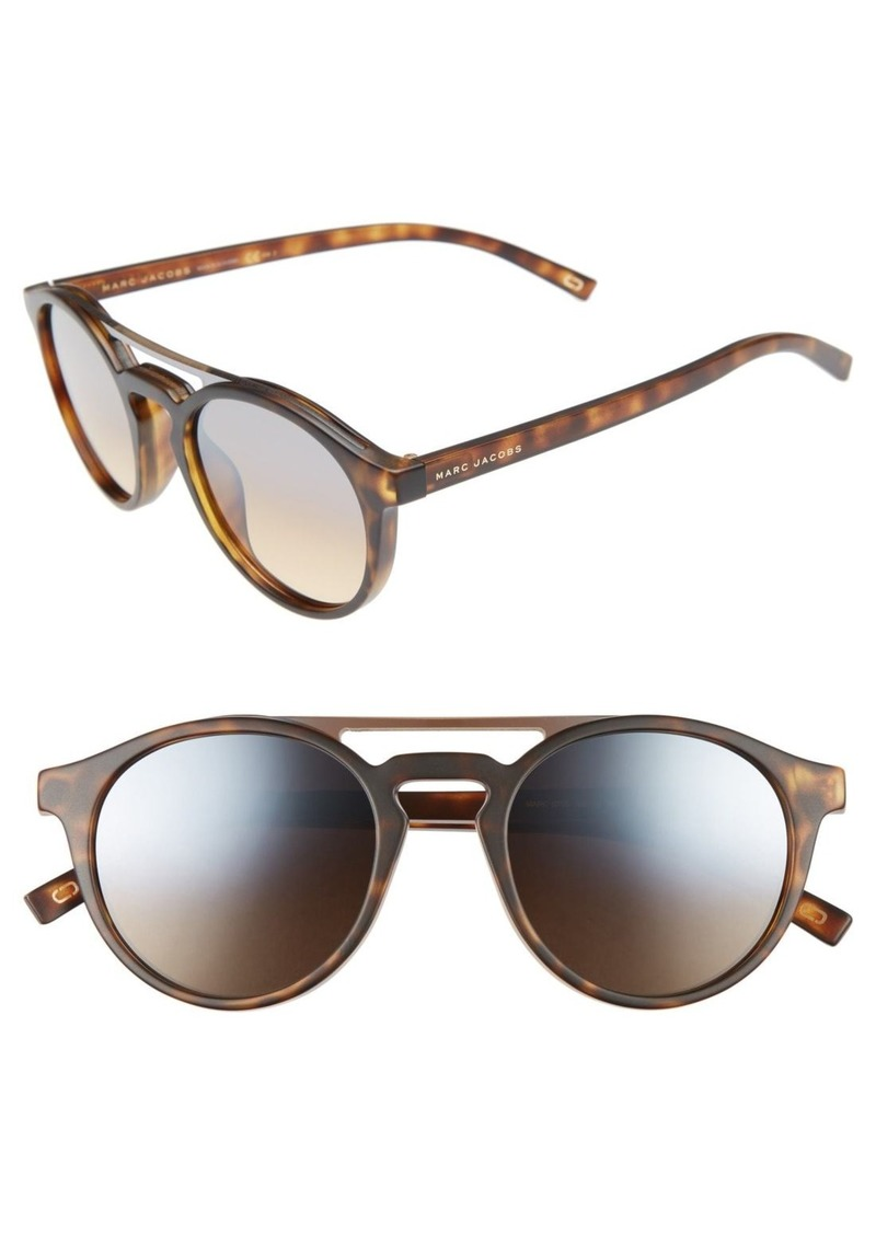2cd134d938b9 Marc Jacobs MARC JACOBS 99mm Round Brow Bar Sunglasses   Sunglasses