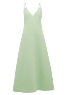 Marc Jacobs A-line wool-blend dress
