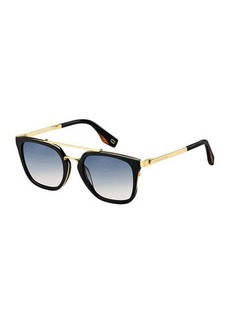 Marc Jacobs Acetate & Metal Gradient Sunglasses