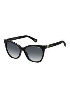 The Marc Jacobs Acetate Rectangle Gradient Sunglasses