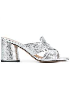Marc Jacobs Aurora mules - Metallic
