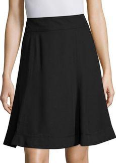 Marc Jacobs Back Zip Flare Skirt