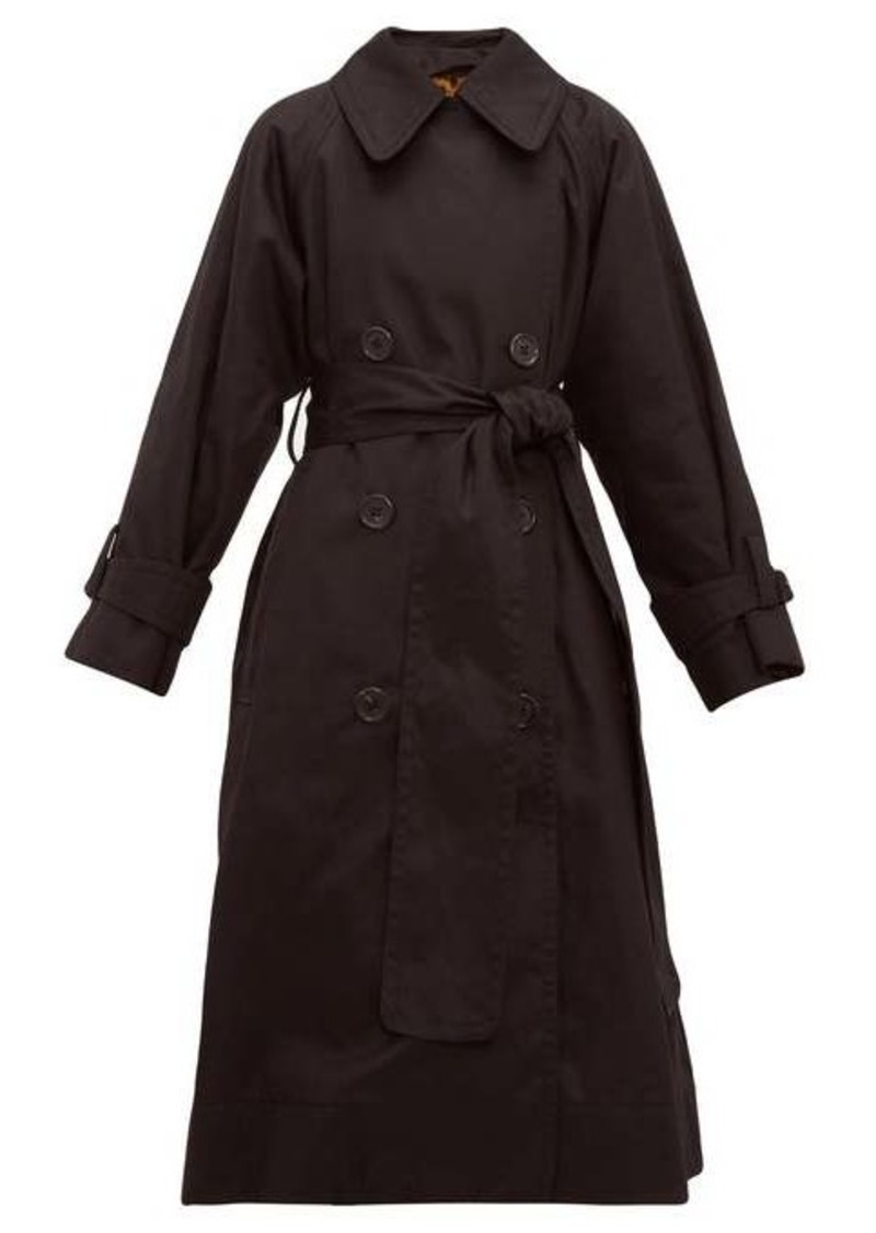 Marc Jacobs Belted cotton-gabardine trench coat