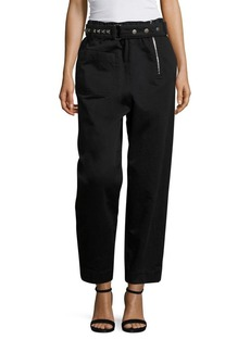 Marc Jacobs Belted Cotton Pants