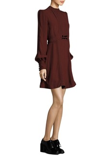 Marc Jacobs Belted Crewneck Dress