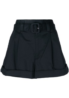 Marc Jacobs belted shorts - Black