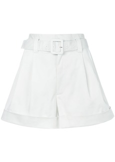 Marc Jacobs belted shorts - White