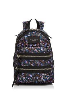 MARC JACOBS Biker Floral Mini Nylon Backpack