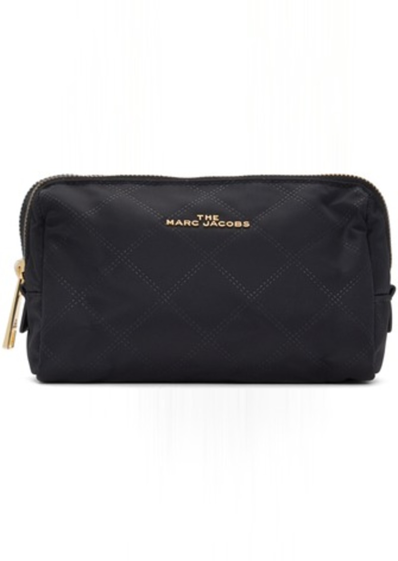 Marc Jacobs Black Triangle 'The Beauty' Cosmetic Pouch