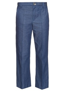 Marc Jacobs Bowie mid-rise cropped jeans