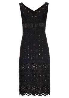 Marc Jacobs Broderie-anglaise embellished dress